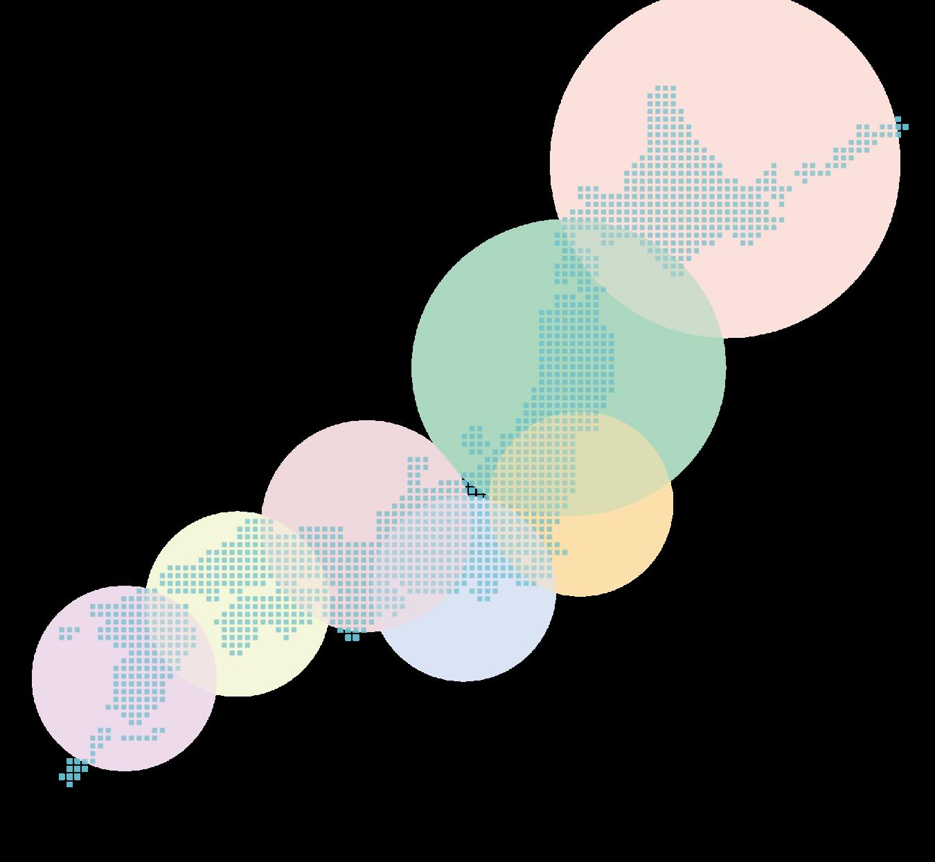 日本地図 イメージ